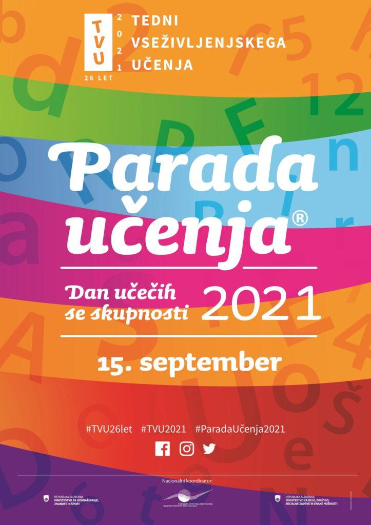 Plakat Parada učenja 2021